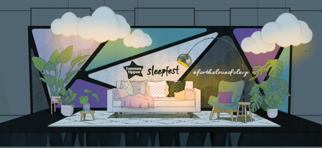 Tommee Tippee invites parents to rediscover their love of sleep at Sleepfest 2020