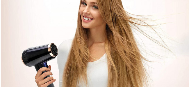 The GoStyler is a brilliant portable hair dryer that's ideal for lockdown