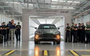 """The first Aston Martin to be """"Made in Wales"""" has arrived"""