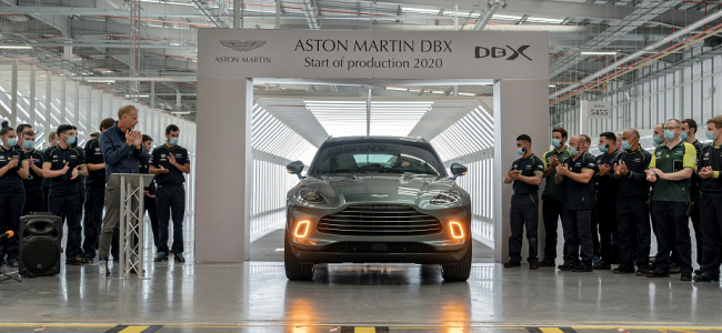 "The first Aston Martin to be ""Made in Wales"" has arrived"