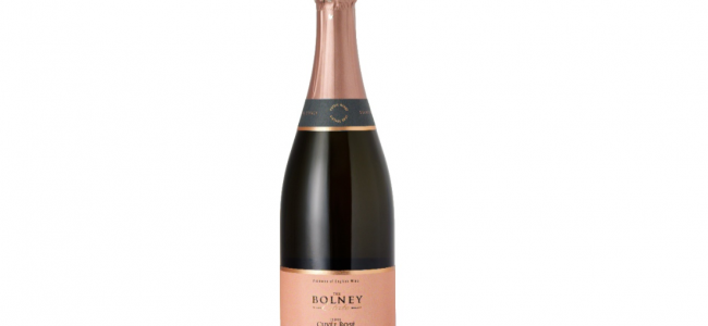 Raise A Glass: The Gold Award-Winning English Sparkling Rose Wine by Bolney Wine Estate