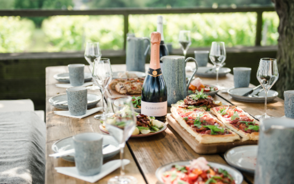 The Nest at Gusbourne Wine Estate in Kent has reopened