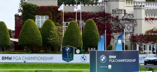 The BMW PGA Championship at Wentworth