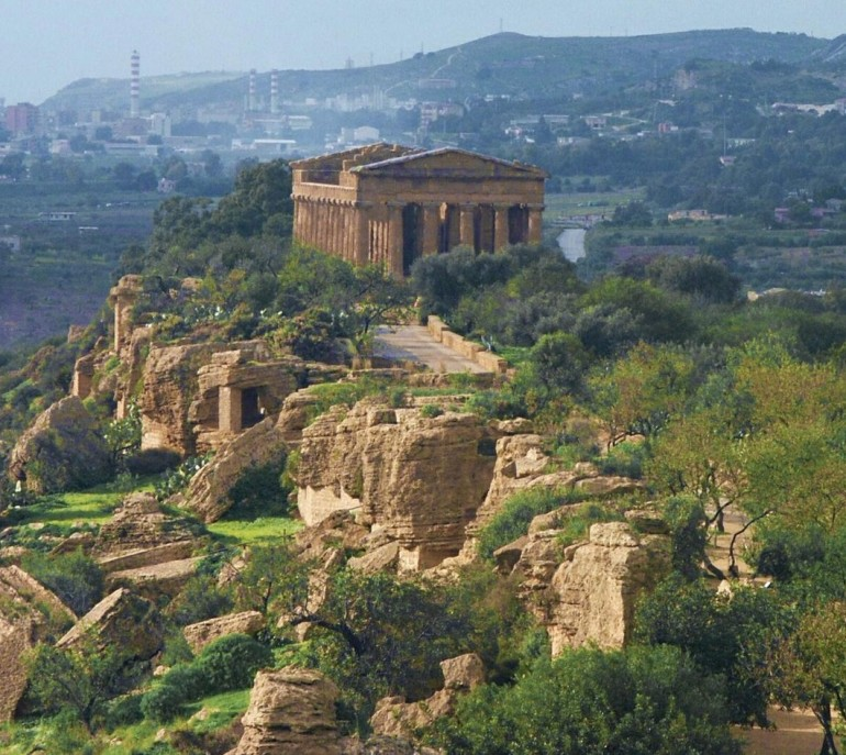 The Valley of Temples in Agrigento is an impressive example of ancient architecture