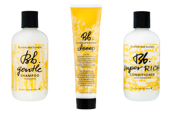 This Bumble and Bumble trio works really well