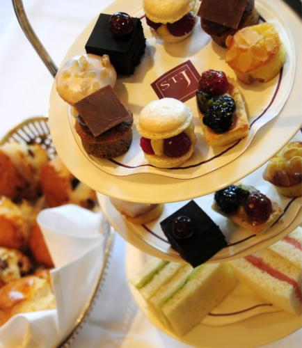 The Gluten Free Afternoon Tea boasts an array of delicious treats