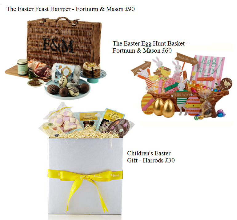 Delicious easter treats luxury hampers and chocolate gifts negle Image collections