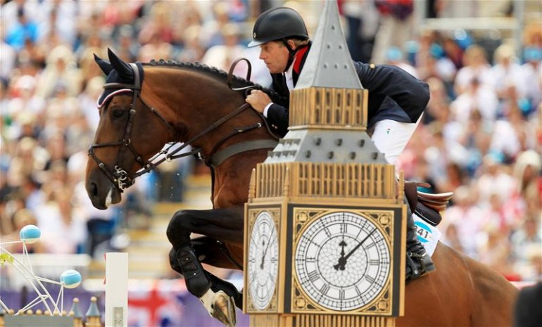 Members of Britain's Olympic Gold Medal Winning Show Jumping Team will compete at Kensington Gardens
