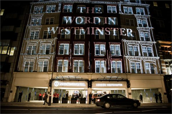 The Word in Westminster - Grand Opening of the InterContinental Hotel