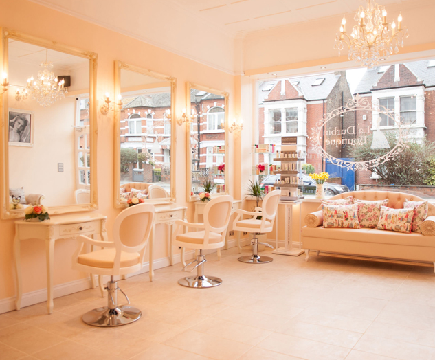 The salon offers a number of hair and beauty treatments