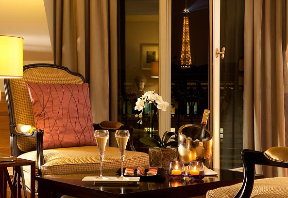 The 5* Paris Marriott Hotel Champs-Elysees