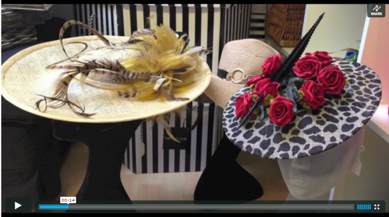 Click to watch highlights from our visit to The Hat Club