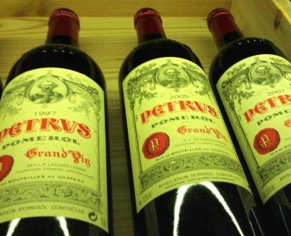 A pinnacle of the current stock at the Selfridges Wine Shop is the highly sought-after 2005 Petrus