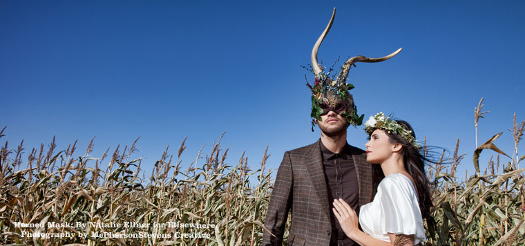 Each £1,000 ticket to The Animal Ball includes the chance to choose, wear and keep one of the beautiful masks