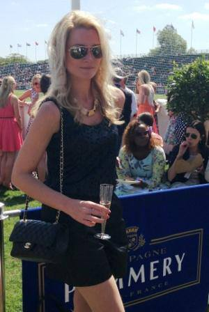 The Sloaney's Editor Laura Toogood at Mint Polo in the Park