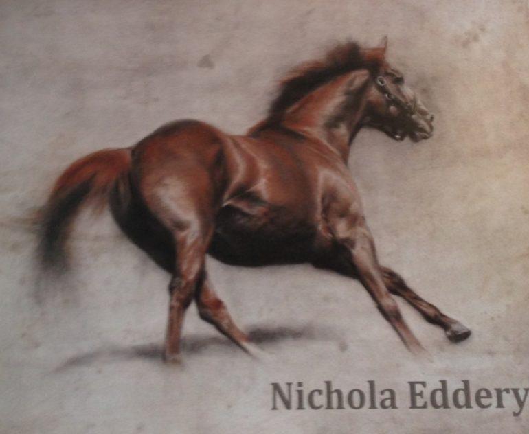 Nichola Eddery's art exhibition runs until July 5th on Motcomb Street