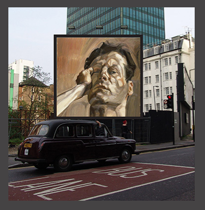 The charitable art project will transform tens of thousands of billboards into great British masterpieces this summer