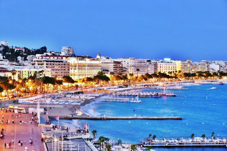 The South of France is well know as a chic holiday destination, particulalry Cannes