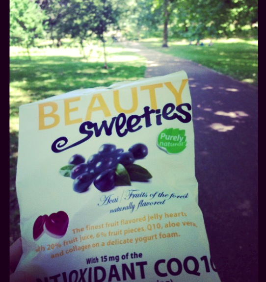 We enjoyed Beauty Sweeties on the walk home, which are purely natural