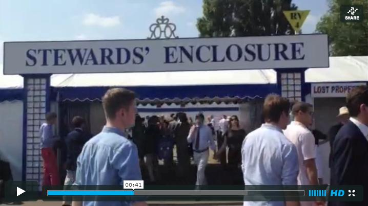 Katie Ann Lamb takes us on a tour of the social hotspots at the Henley Royal Regatta (click to view video)