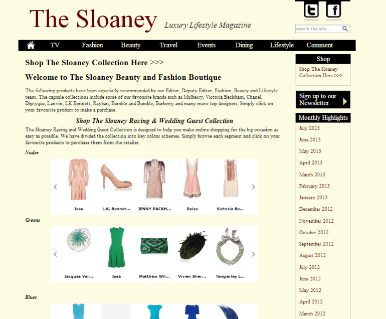 The Sloaney Shop