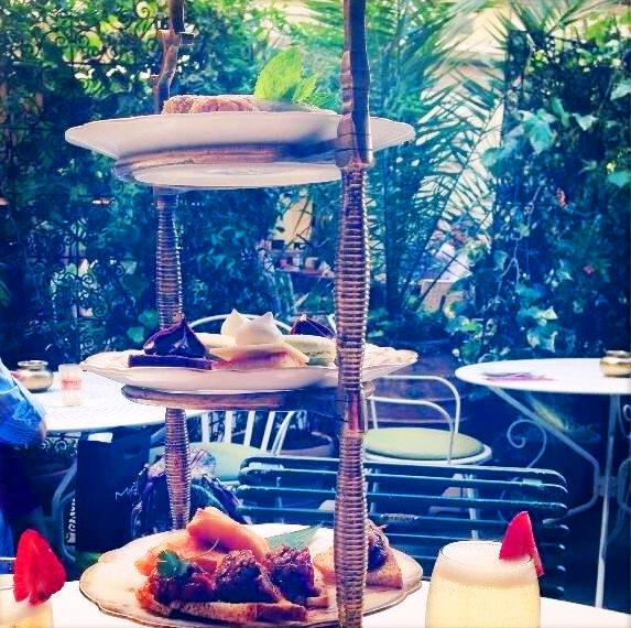 Moroccan Afternoon Tea at Momo
