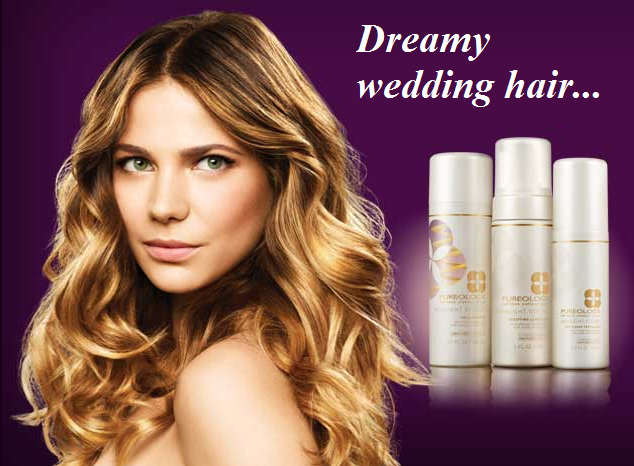 Get wedding-ready hair with Pureology