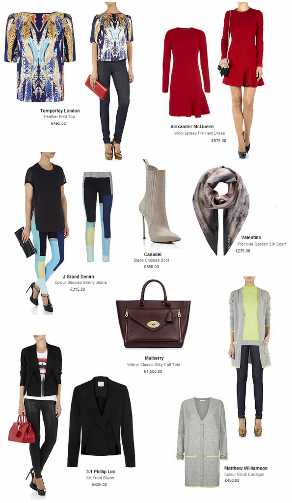 Autumn Winter Transitional Pieces from Harrods