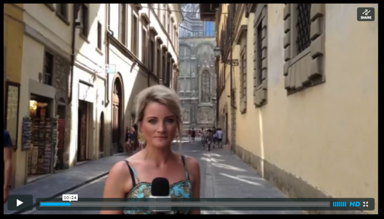 Click to watch our highlights from Florence on Sloaney TV