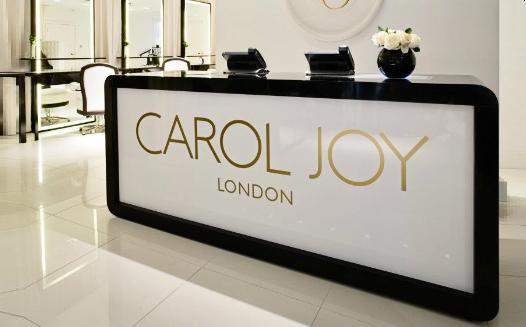 The Carol Joy flagship salon in South Kensington