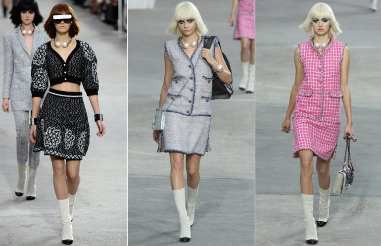 Chanel's SS14 Show in Paris