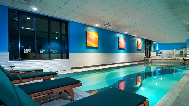 If you want to extend your weekend break with an overnight stay at Stanstead, the Hilton has a swimming pool, steam room and sauna