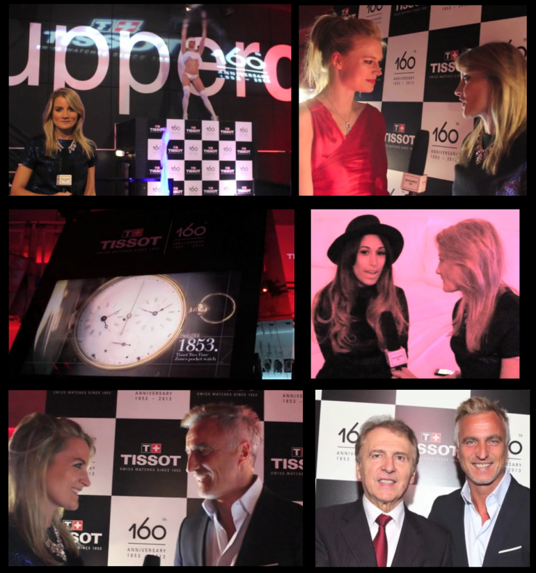 Tissot's 160th Anniversary Party at Supperclub Notting Hill