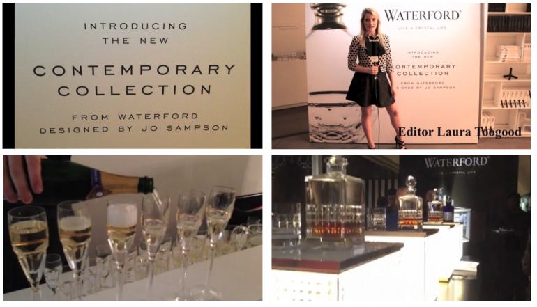 Sloaney TV at the Launch of the Waterford Contempoary Collection by Jo Sampson