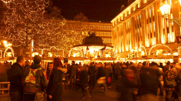 The magic of the German Christmas Market in Dusseldorf