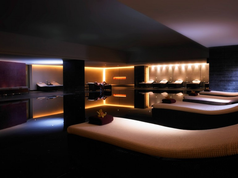 The spa is one of the best in Europe