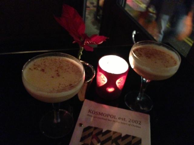 Festive Cocktails at Kosmopol with Ballantine's Christmas Reserve