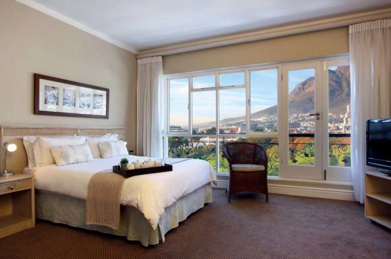 Some of the rooms boast mountain views
