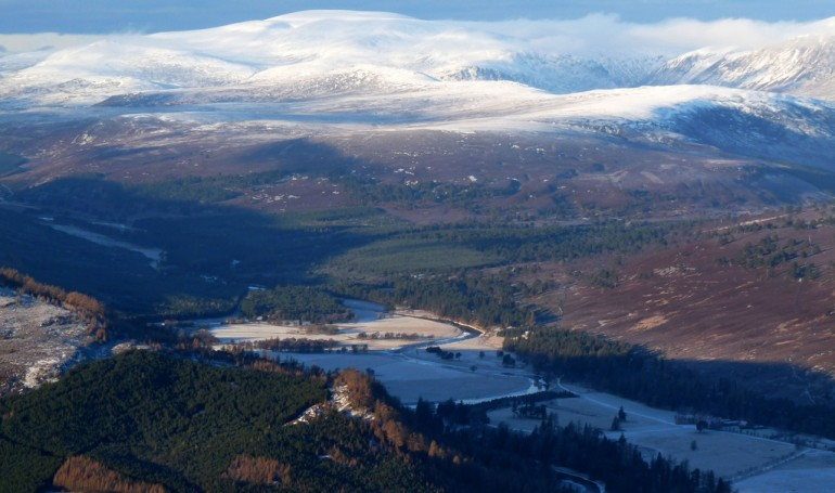 The stunning views from Morrone