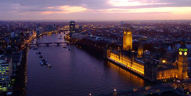 You can explore London from your doorstep