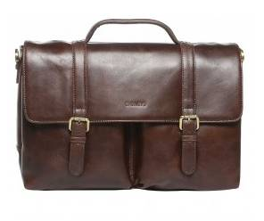 Barneys Leather Satchel Bag (£169)