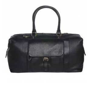 Barneys Men's Leather Holdall