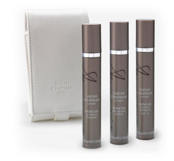 Sarah Chapman's products are wonderful, especially the Age-Repair Serum