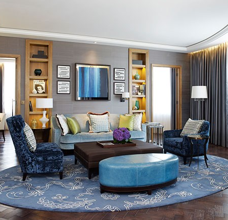 The hotel offers a selection of tasteful suites