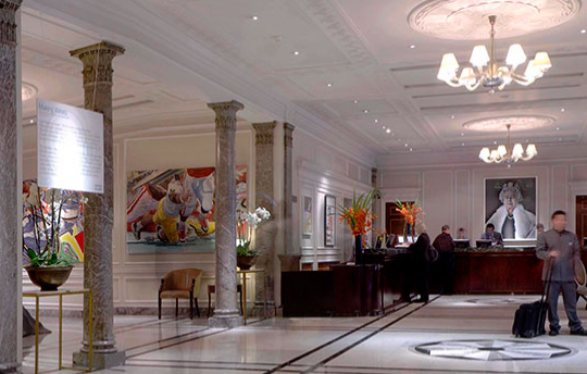The 5* Hotel is located on Portman Square
