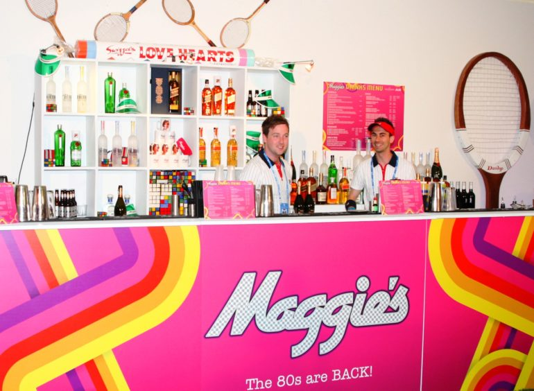 Maggie's Serve an Ace for The Queen's Club Members