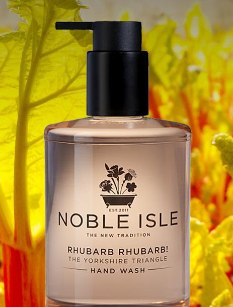 Rhubarb Rhubarb! The new range by Noble Isle