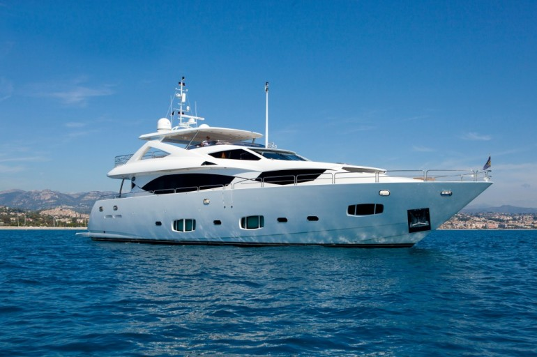 Chartering a yacht is proving very popular