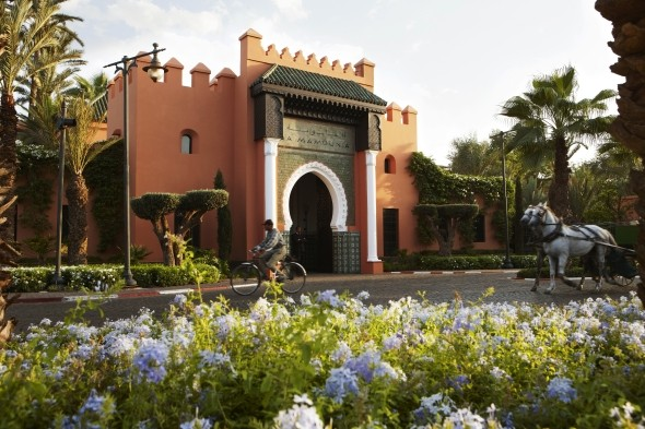 La Mamounia is a popular destination among celebrities