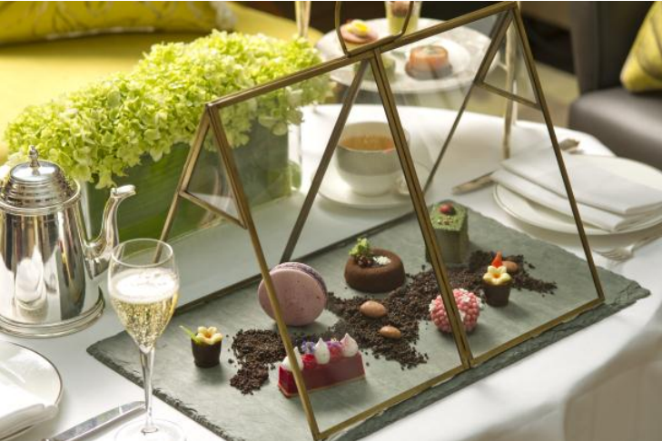 The Edible Garden Afternoon Tea